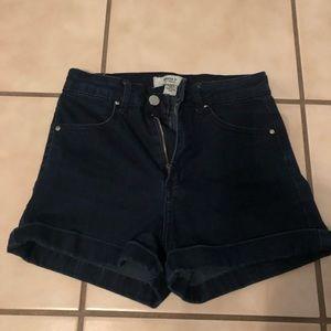 Size 24 Forever 21 Indigo shorts